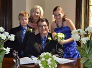 John, Darlene, Grace & Evan