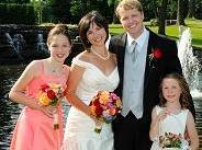 Jennifer and Tom, Morgan, Paige and Tom